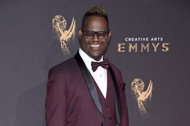 John Tucker on the red carpet at the 2017 Creative Arts Emmys.