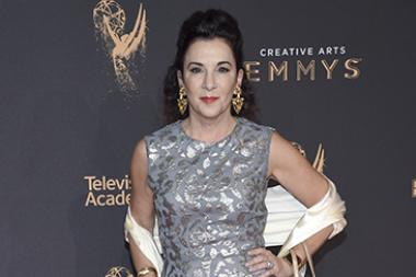 Television Academy Foundation chair Madeline Di Nonno on the red carpet at the 2017 Creative Arts Emmys.