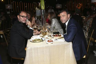 Fisher Stevens and Liev Schreiber at the 2017 Creative Arts Ball.