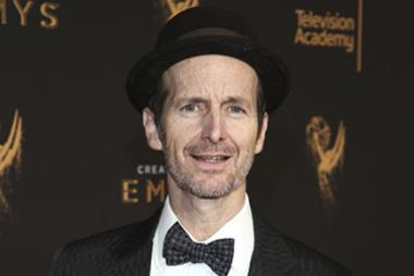 Denis O'Hare on the red carpet at the 2017 Creative Arts Emmys.