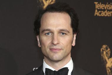 Matthew Rhys on the red carpet at the 2017 Creative Arts Emmys.