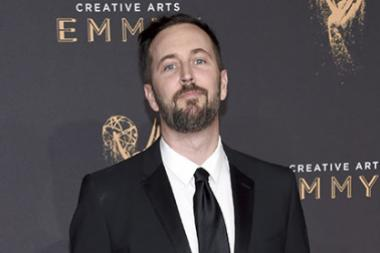 Jeremy Turner on the red carpet at the 2017 Creative Arts Emmys.