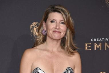 Sharon Horgan on the red carpet at the 2017 Creative Arts Emmys.
