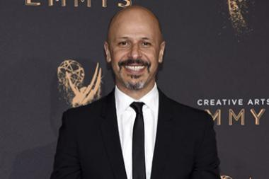 Maz Jobrani on the red carpet at the 2017 Creative Arts Emmys.