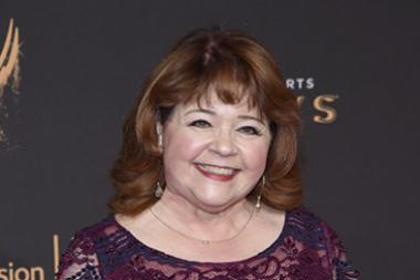 Patrika Darbo on the red carpet at the 2017 Creative Arts Emmys.