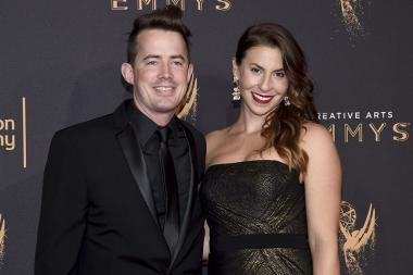 Tara Blume on the red carpet at the 2017 Creative Arts Emmys.