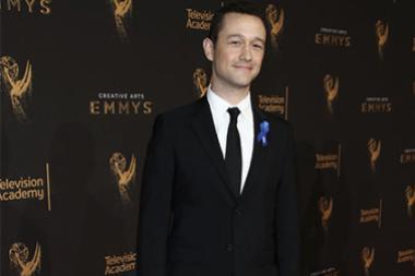 Joseph Gordon-Levitt on the red carpet at the 2017 Creative Arts Emmys.