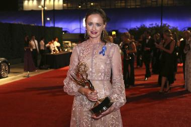 Alexis Bledel at the 2017 Creative Arts Ball.