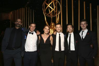 Joseph Gordon-Levitt and guests at the 2017 Creative Arts Ball.