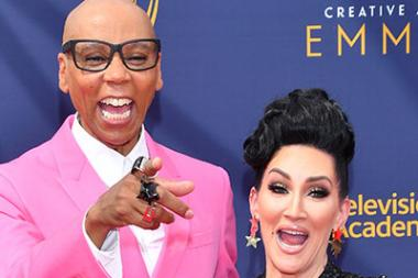 RuPaul Charles and Michelle Visage