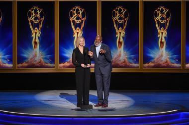 Lisa Kudrow and David Alan Grier