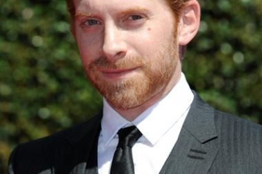 Seth Green of Robot Chicken arrives for the 2014 Primetime Creative Arts Emmys.