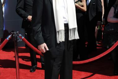 Jon Voight arrives for the 2014 Primetime Creative Arts Emmys.