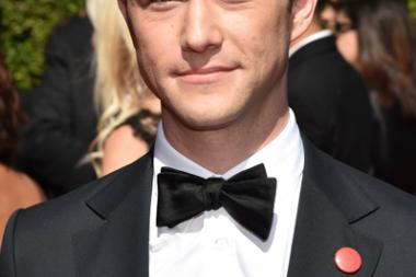 Joseph Gordon-Levitt of HitRecord arrives for the 2014 Primetime Creative Arts Emmys.
