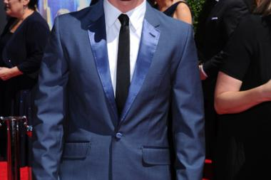 Travis Wall of So You Think You Can Dance arrives for the 2014 Primetime Creative Arts Emmys.
