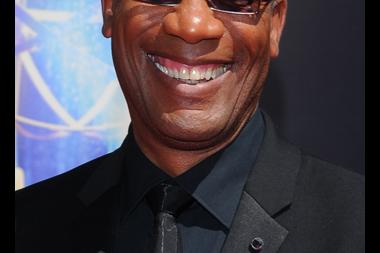Joe Morton of Scandal arrives for the 2014 Primetime Creative Arts Emmys.