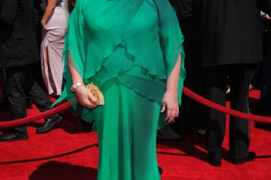 Margo Martindale of The Americans arrives for the 2014 Primetime Creative Arts Emmys.