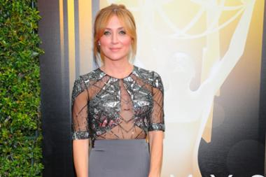 Sasha Alexander on the Red Carpet at the 2015 Creative Arts Emmys.