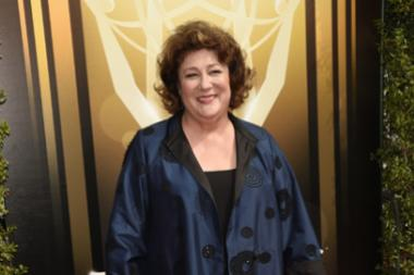Margo Martindale on the red carpet at the 2015 Creative Arts Emmys.