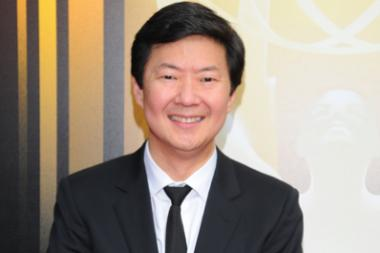 Ken Jeong on the red carpet at the 2015 Creative Arts Emmys.