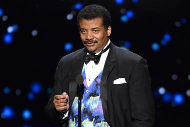 Neil deGrasse Tyson at the 2015 Creative Arts Emmys.