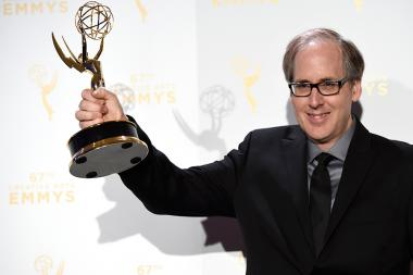 Jeff Beal backstage at the Creative Arts Emmy Awards 2015.