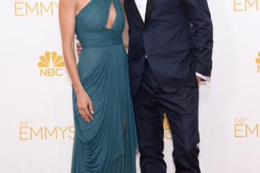 Alexi Ashe and Seth Meyers