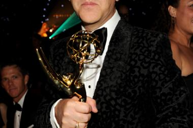 Ryan Murphy at the 66th Emmys Governors Ball.