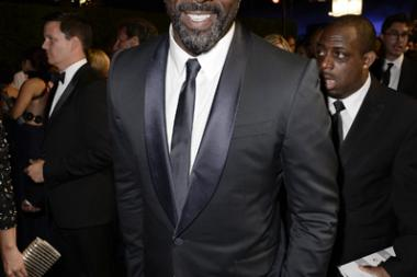 Idris Elba of Luther at the 66th Emmys Governors Ball.