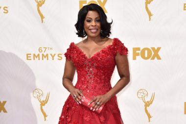 Niecy Nash on the red carpet at the 67th Emmy Awards.