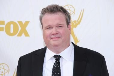 Eric Stonestreet on the red carpet at the 67th Emmy Awards.
