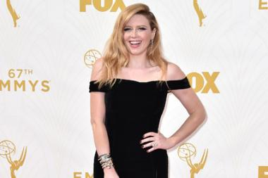 Natasha Lyonne on the red carpet at the 67th Emmy Awards.