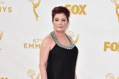 Kate Mulgrew on the red carpet at the 67th Emmy Awards.