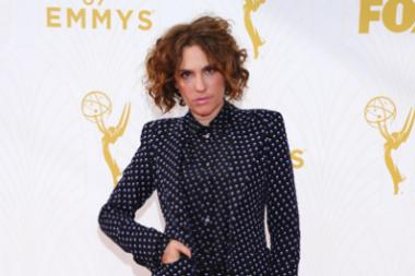 Jill Soloway on the red carpet at the 67th Emmy Awards.