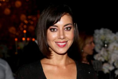 Aubrey Plaza at the 67th Emmys Governors Ball.