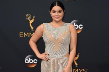 Ariel Winter on the red carpet at the 2016 Primetime Emmys.