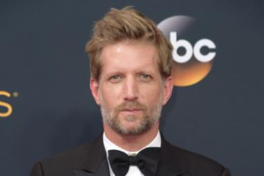 Paul Sparks on the red carpet at the 2016 Primetime Emmys.