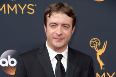 Derek Waters on the red carpet at the 2016 Primetime Emmys.