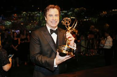 John Travolta at the 68th Emmys Governors Ball.