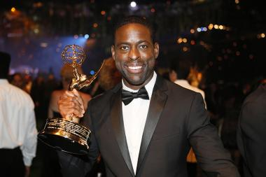 Sterling K. Brown at the 68th Emmys Governors Ball.