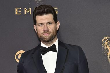 Billy Eichner on the red carpet at the 69th Primetime Emmy Awards
