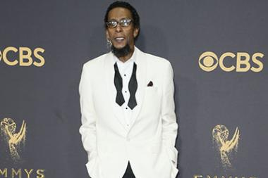 Ron Cephas Jones on the red carpet at the 2017 Primetime Emmys.