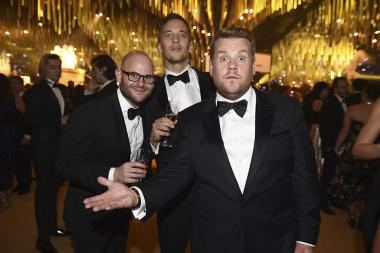James Corden at the 69th Emmy Awards Governors Ball.