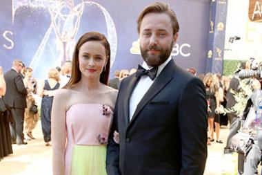 Alexis Bledel and Vincent Kartheiser