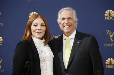 Stacey Weitzman and Henry Winkler