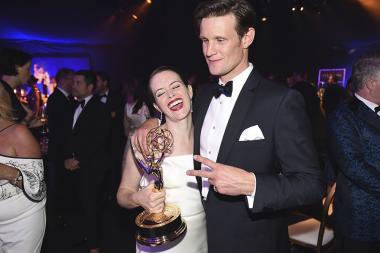 Claire Foy and Matt Smith