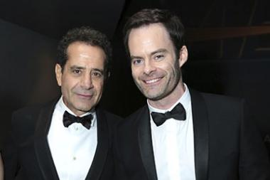 Tony Shalhoub and Bill Hader