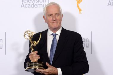 Winner of the Charles F. Jenkins Lifetime Achievement Award Garrett Brown at the 2015 Engineering Emmys at the Loews Hotel in Los Angeles, October 28, 2015.