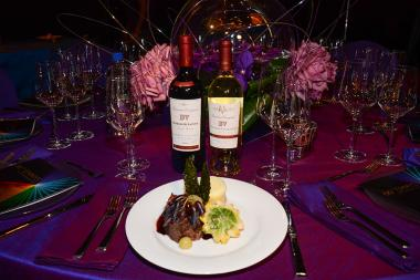 Beaulieu Vineyard serves up the official wine pairings at this year's Governors Ball.