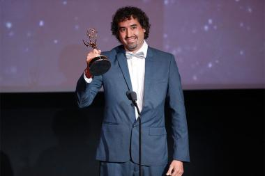 Jaime Sanchez at the L.A. Area Emmy Awards presented at the Television Academy's Wolf Theatre at the Saban Media Center on Saturday, July 22, 2017, in North Hollywood, California.